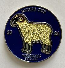 2020 Ryder Cup golf mondo ball marker sheep whistling straits pga new