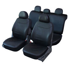 Housses de Siège en Simili Cuir Noir pour Peugeot 307 - QD218