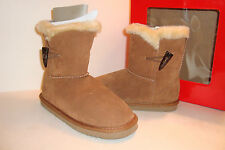 Style & Co Womens NWB Tinytan Chestnut Ankle Brown Leather Boots Shoes 7 M NEW