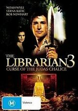 The Librarian 03 - The Curse of the Judas Chalice (DVD, 2009)