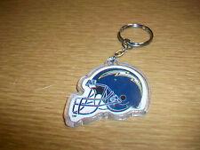 Vintage Plastic Keychain NFL San Diego Chargers Football Helmet Logo