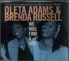Oletta Adams&Brenda Russel-We Will Find A Way cd maxi single