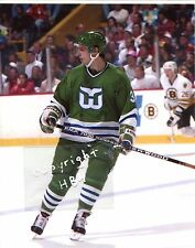 DOUG CROSSMAN Photo in action Hartford Whalers (c)