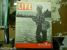"LIFE MAGAZINE - 5/13/1946 - Bob Crosby/Coal Strike/""Swan Lake""/Herman Keiser"