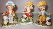 Vintage Homco Home Interiors Kids figurines #1430