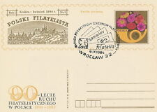 Poland postmark WROCLAW - philately press SOCPHILEX