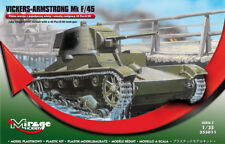 VICKERS ARMSTRONG Mk F/45 - (FINNISH ARMY MKGS 1941) #350011 1/35 MIRAGE - RARE