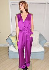 New satin charmeuse occasion jumpsuit by Ralph Lauren plus 22W retail $185 NWT