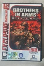 BROTHERS IN ARMS HELL'S HIGHWAY PER PC  ITALIANO UBISOFT 2008