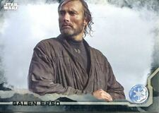 Star Wars Rogue One Black Parallel Base Card #38 Galen Erso