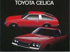 Coupé pour Toyota Celica Liftback 1978-79 néerlandais original la brochure commerciale