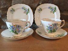 Unboxed Blue British Colclough Porcelain & China