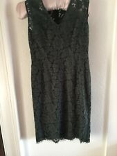 Dress By Jigsaw Winter Green Special Occasion Holiday Smart Small 12