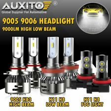 6x 9005 H11 LED Headlight Bulb Hi/Lo beam H11 Fog Light for Honda Civic 2016-18