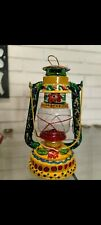 Handpainted Lantern Pakistani Colourful