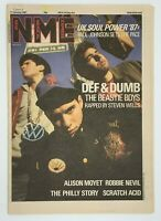 NME 17 January 1987 Beastie Boys Alison Moyet Robbie Nevil Scratch Acid
