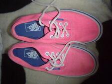 Vans size 5 pink