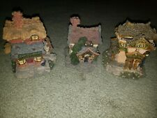Boyds Bearly Built Village Set and Accessories