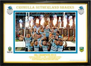 CRONULLA SHARKS NRL CHAMPIONS 2016 PICTURE