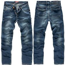 Herren Jeans Hose Rock Creek Designer Denim Jeanshose Herrenhose Stretch M18 NEU