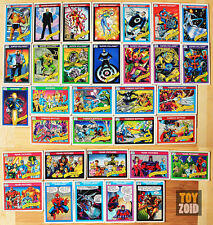 Marvel Comics Trading Cards Series 1 1990 Vintage RARE 33 pcs.