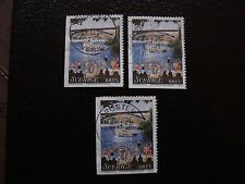 SUEDE - timbre yvert et tellier n° 2036 x3 obl (A29) stamp sweden