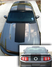 2010-2012  Ford Mustang Over the Top Solid  Style Stripes Precut  Kit