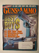 Guns & Ammo Magazine. May 1997. Best Buys of 1997! M5 Auto! Ruger 9mm! .45
