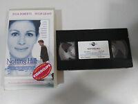 NOTTING HILL VHS FILM BANDE COLLECTEUR DE JULIA ROBERTS GRANT HUGH