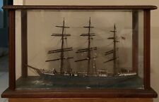 Antique Ship Diorama, Maritime Collectible