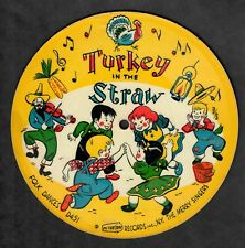 The Merry Singers Picture Tone 78rpm Picture Disc Turkey In The Straw / Carousel