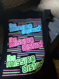Black The Mission District T-Shirt. Size S.