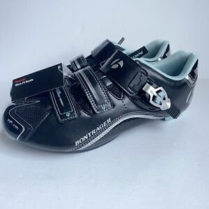 Bontrager Inform Race DLX Road Cycling Shoes Black Blue Strap- Womens 11.5 EU 43