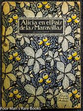 ALICIA EN EL PAIS DE LAS MARAVILLAS ALICE'S ADVENTURES IN WONDERLAND  Maggs 1920