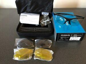 Shimano Photochromic Cycling Sunglasses Eyewear CE-EQX2-PH NEW