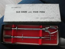 vintage ice tongs set