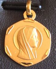 Médaille or 18 carats Vierge (OR10)