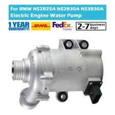 Electric Coolant Water Pump 11517586925 Fit BMW 1 3 5 X1 X3 X5 N52B30A N54B30A