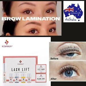 Eye Lash Lift Perming & Brow Lamination Kit IconSign 10+treatments DIY Beauty