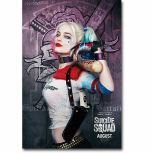 F-099 Harley Quinn Suicide Squad 2016 Movie Hot Poster - 36 27x40in - Art Print