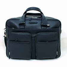 Man Woman Briefcase PIQUADRO MODUS BLUE leather work coach bag CA2765MO BLU