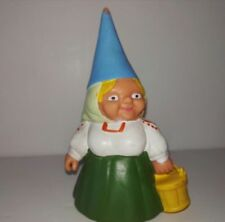 "FIGURE GNOMA LISA BASKET ""DAVID THE GNOME"" PVC BRB ,David el Gnomo RARE"