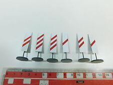 Ay603-0, 5 #2x Ets o Gauge 975 Set Blech-Warnbake/Traffic Signs, Mint