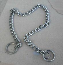 Dog choke chain - 20 inch