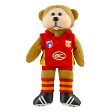 NEW Official Gold Coast Suns Heritage Player Beanie Bear