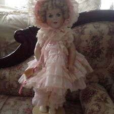 "Beautiful 27"" Shirley Temple Doll 1983 The Little Colonel"