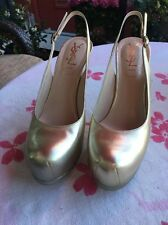 YSL Platform Shoes 36 1/2 Xcellent Condition
