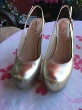 YSL Platform Shoes 36 1/2 Xcellent Condition