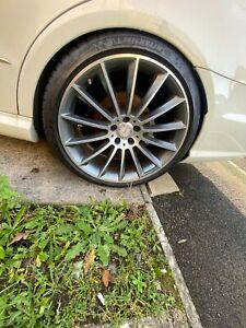 "Genuine Mercedes C class 20"" AMG Turbine Alloy Wheels"