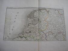 CARTE des PAYS-BAS par Chanlaire carte ancienne nederland Provinces Unies